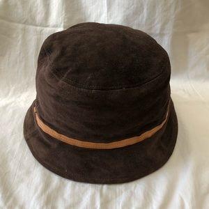 COACH Brown Bucket Hat